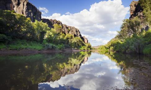 Windjana Gorge i det vestlige Australien - Risskov Rejser