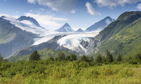 Worthington Gletsjeren i Alaska - Risskov Rejser
