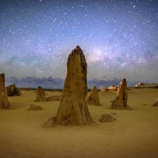 Nambung Milkyway - Australien - Risskov Rejser
