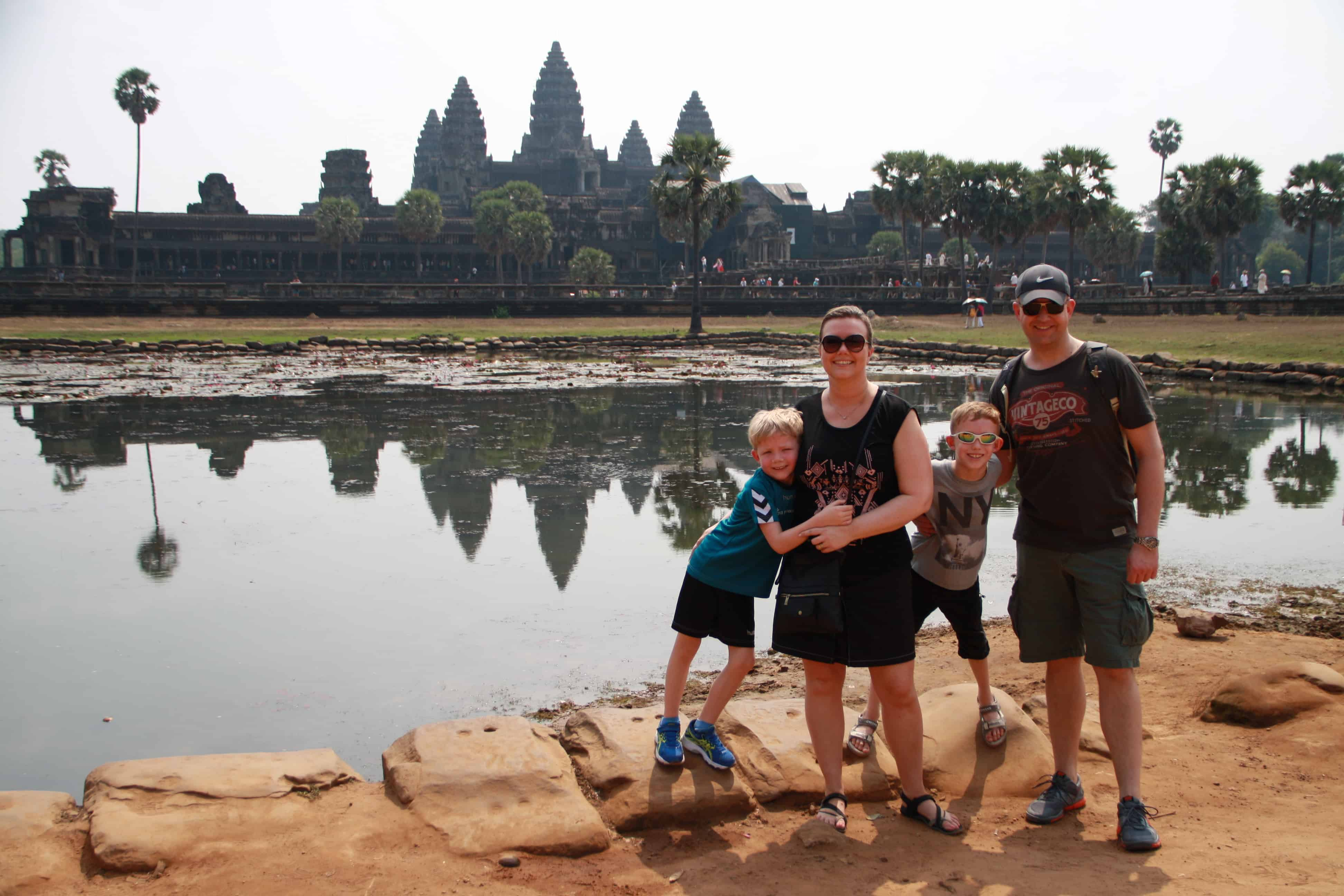 Familiebesøg i Cambodja - Risskov Rejser