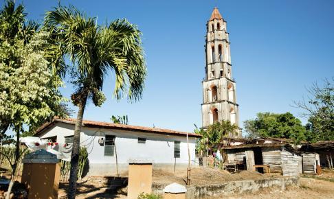 På rundrejsen til Cuba kommer du til sukkerplantagen Iznaga