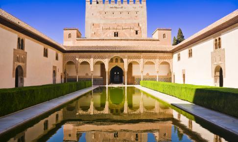 Palacios Nazaries som er en del af Alhambra - Risskov Rejser