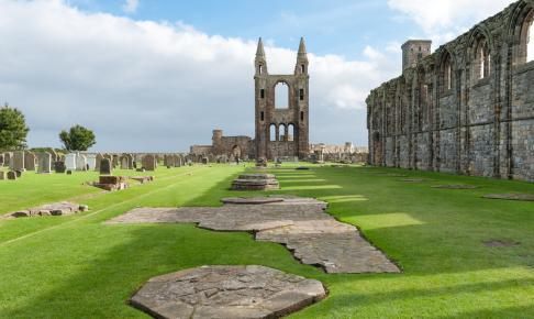 Byen St. Andrews fortæller historie