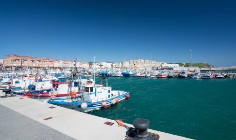 Tarifa havn i Spanien - Risskov Rejser