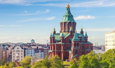 Den ortodokse katedral Uspenski - Risskov Rejser