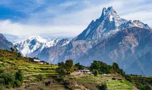 Annapurna-bjergkæde - Indien & Nepal - Risskov Rejser