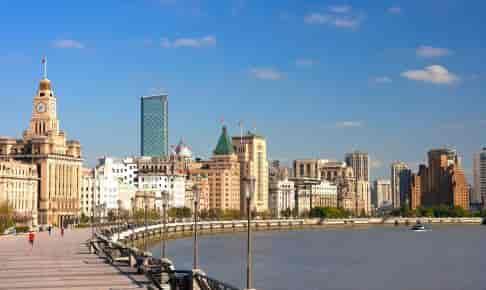 Shanghai Bund, Kina - Risskov Rejser
