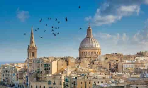 Maltas hovedstad Valletta