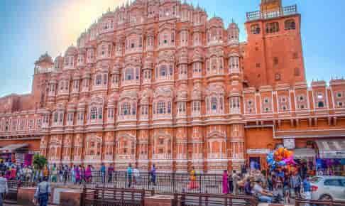 Vindenes Palads i Jaipur - Risskov Rejser