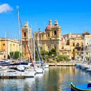 Havneområdet i Vittoriosa