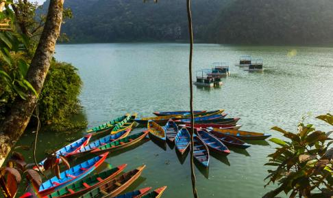Phewa Lake, Nepal - Risskov Rejser