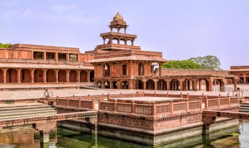 Den forladte by Fatehpur Sikri - Risskov Rejser