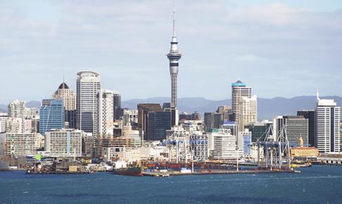Aucklands skyline - Risskov Rejser