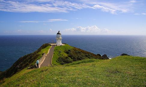 Fyrtårnet på Cape Reinga - Risskov Rejser