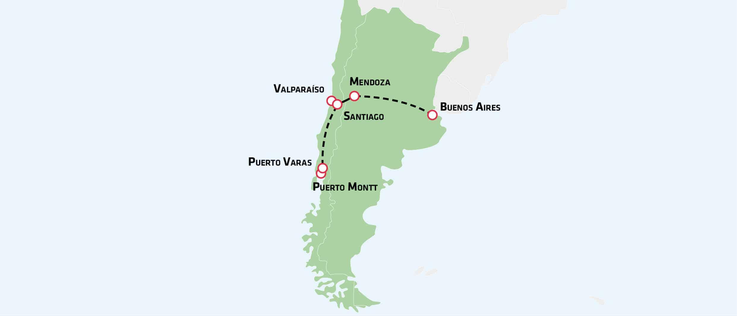 Oplev Argentina og Chile på en rundrejse med dansk rejseleder