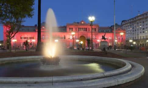 Det lyserøde regeringspalads i Buenos Aires, Casa Rosada - Risskov Rejser