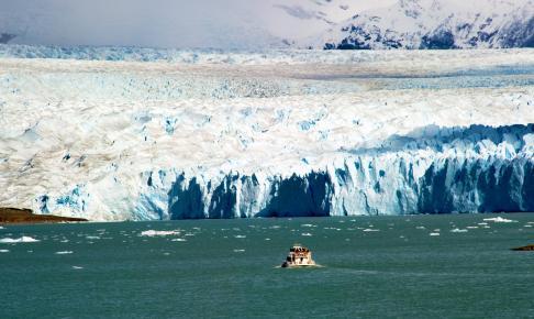 Argentinas største sø, Lago Argentino - Risskov Rejser