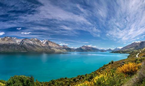 Smukke Lake Wakatipu - Risskov Rejser