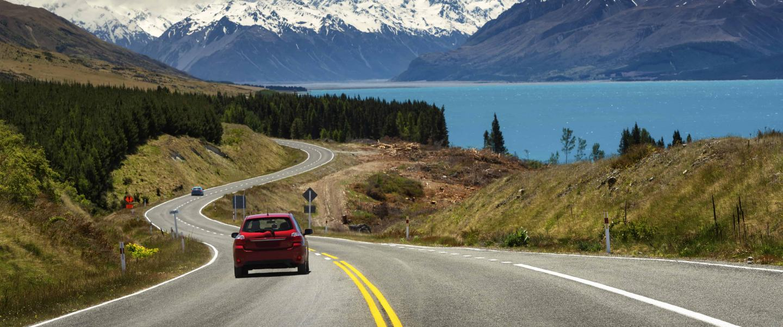 På vej mod Mt Cook - Risskov Rejser