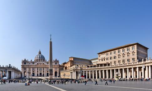 Peterspladsen i Rom