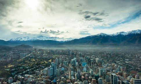 Byen Santiago de Chile ligger i flotte omgivelser - Risskov Rejser