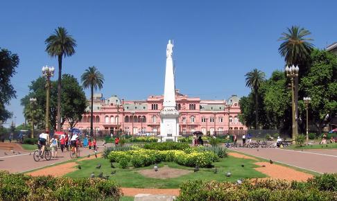 Det lyserøde regeringspalads Casa Rosada - Risskov Rejser