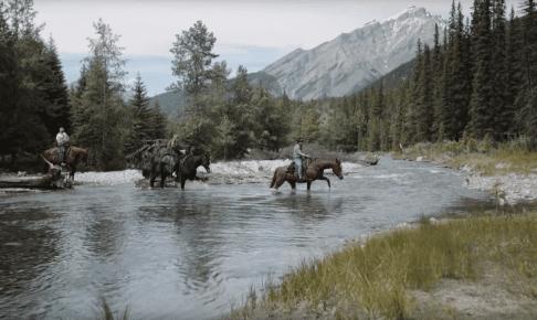 Banff Cookout fra hesteryg, Canada - Risskov Rejser