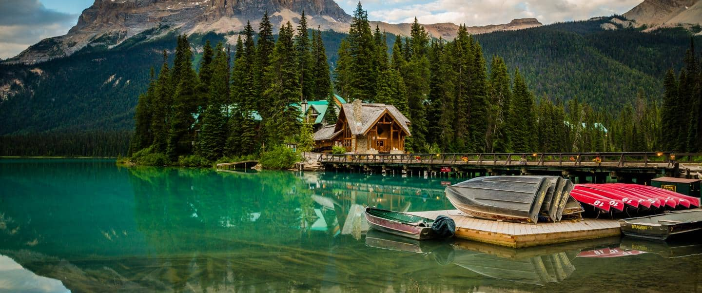 Emerald Lake Lodge i Canada
