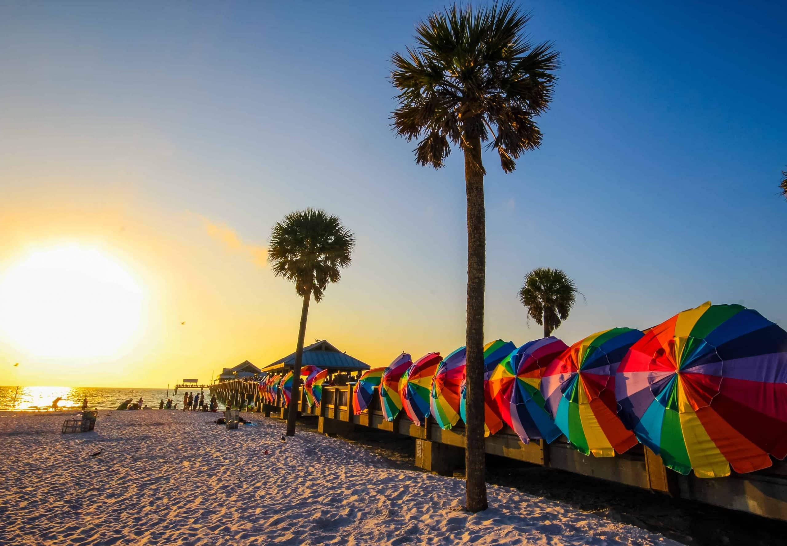 Sol, strand & forlystelsesparker i Florida kør selv ferie