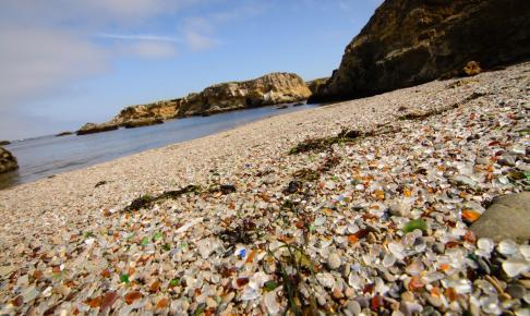 Glass Beach i Californien - Risskov Rejser