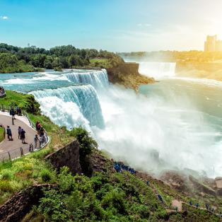 Niagara Falls i New York