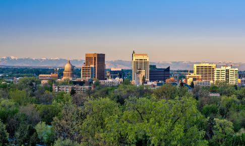 Boise i Idaho - Risskov Rejser