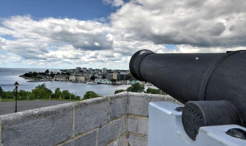 Fort Henry National Historic Site Cannon - Risskov Rejser