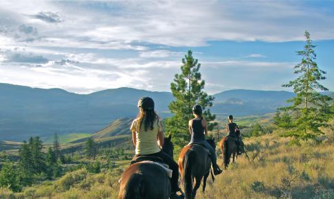 Sundance Guest Ranch - ridetur i den flotte natur - Risskov Rejser