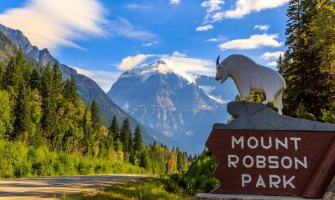 Mount Robson - det højeste bjerg i Canadian Rockies - Risskov Rejser