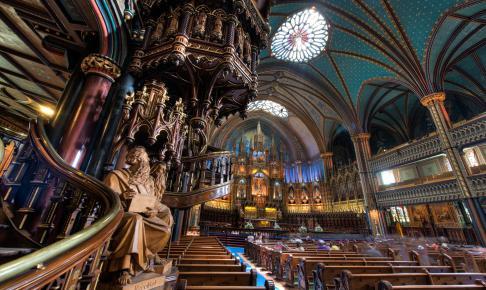 Notre Dame Basilica i Montreal