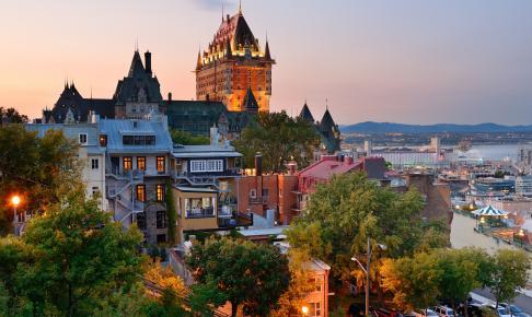 Skyline over Québec by - Risskov Rejser
