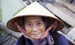 Vietnametisk kvinde - Risskov Rejser