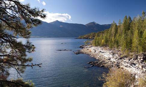 Kootenay Lake - Risskov Rejser