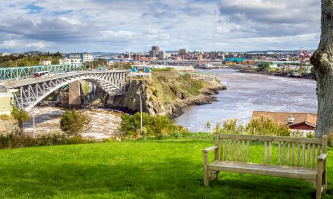 St. John ved New Brunswick - Risskov Rejser