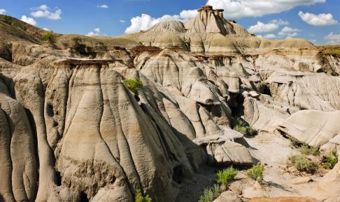 Badlands in Alberta, Canada - Risskov Rejser