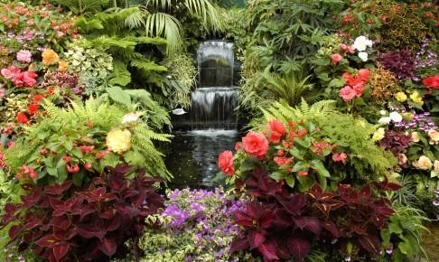 Butchart Gardens på Vancouver Island