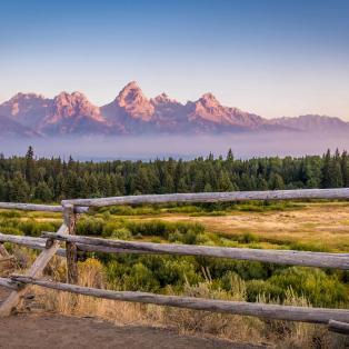 Grand Teton Mountains - Rundrejser til USA - Risskov Rejser