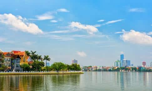 Solrig dag i Hanoi, Vietnam - Risskov Rejser