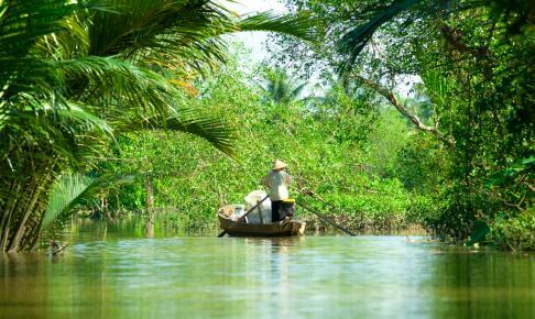 Mekong Delta River - Risskov Rejser