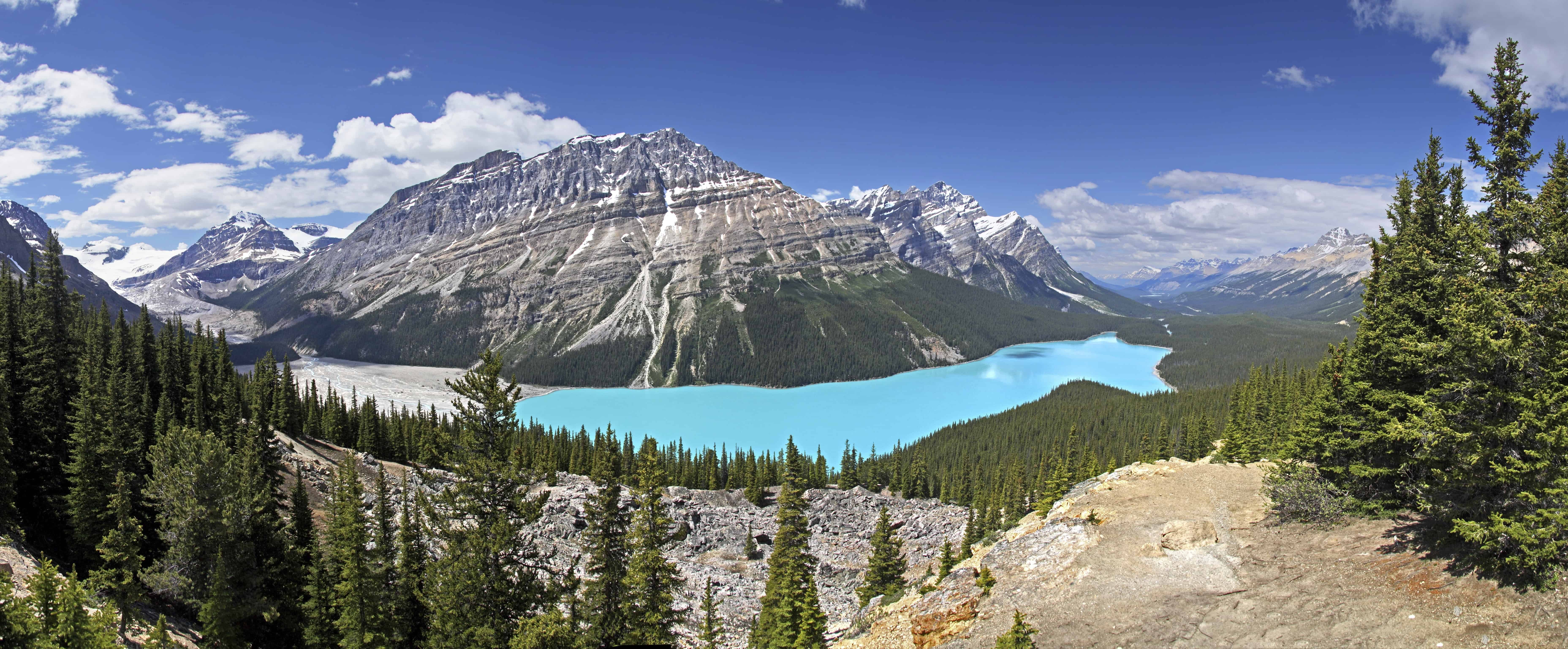 Peyto Lake i Alberta