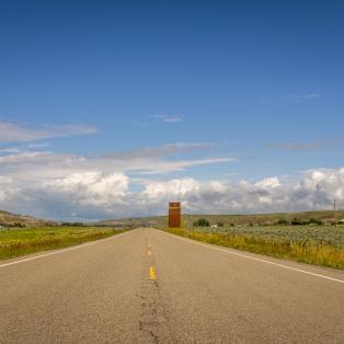 Prærielandskab i Alberta