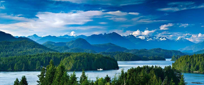 Udsigt over Vancouver Island - Risskov Rejser