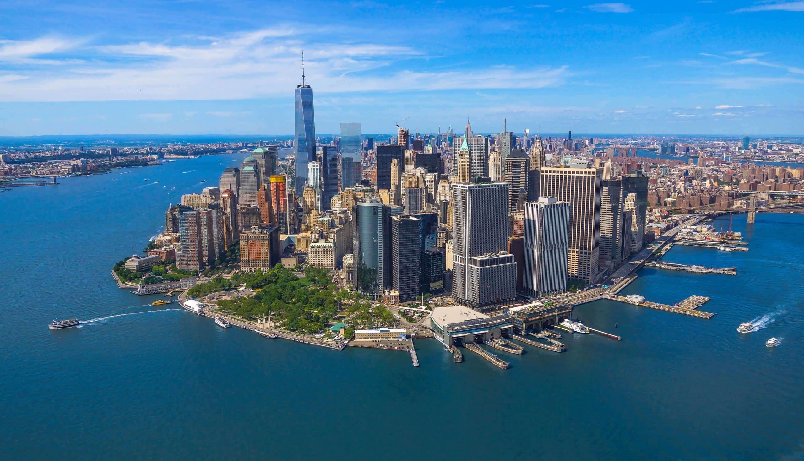 Udsigt til Manhattan