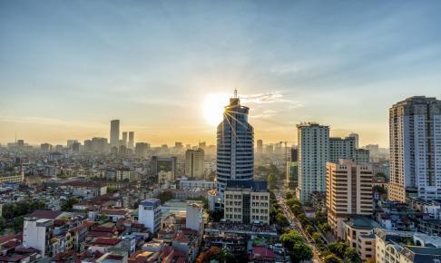 Hanoi Skyline - Risskov Rejser